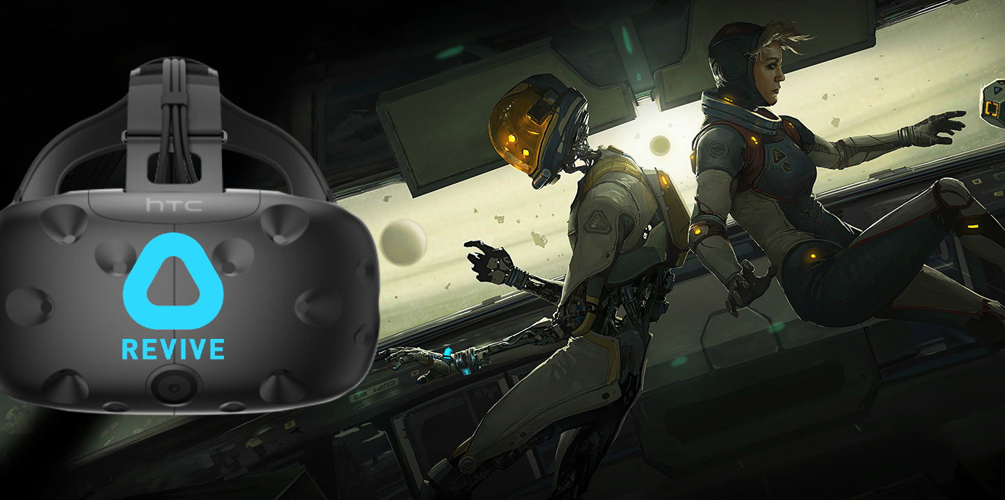 Lone Echo' and 'Echo Arena' Now Work on HTC Vive with ReVive