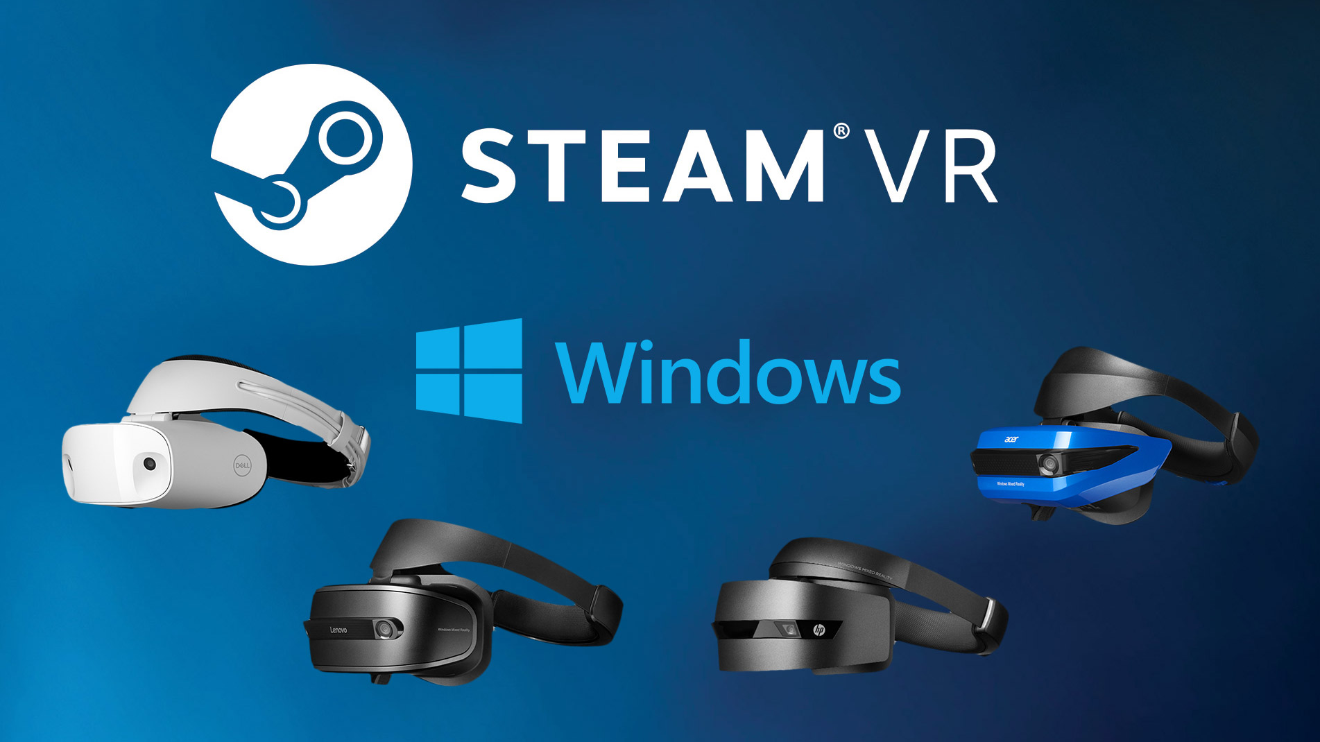 Update: Steam Support for Windows VR Headsets to Arrive