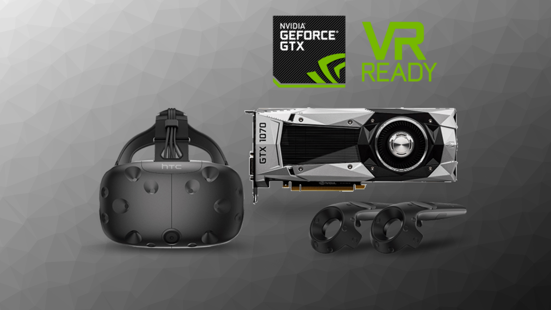 HTC Vive + GTX 1070 Founders Edition Deal is Back for $800