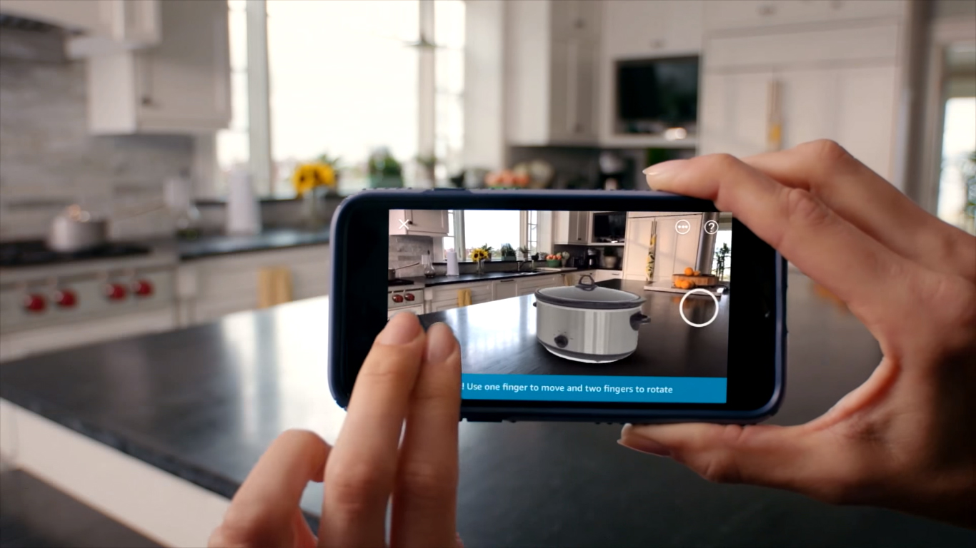 Amazon Brings Augmented Reality Product