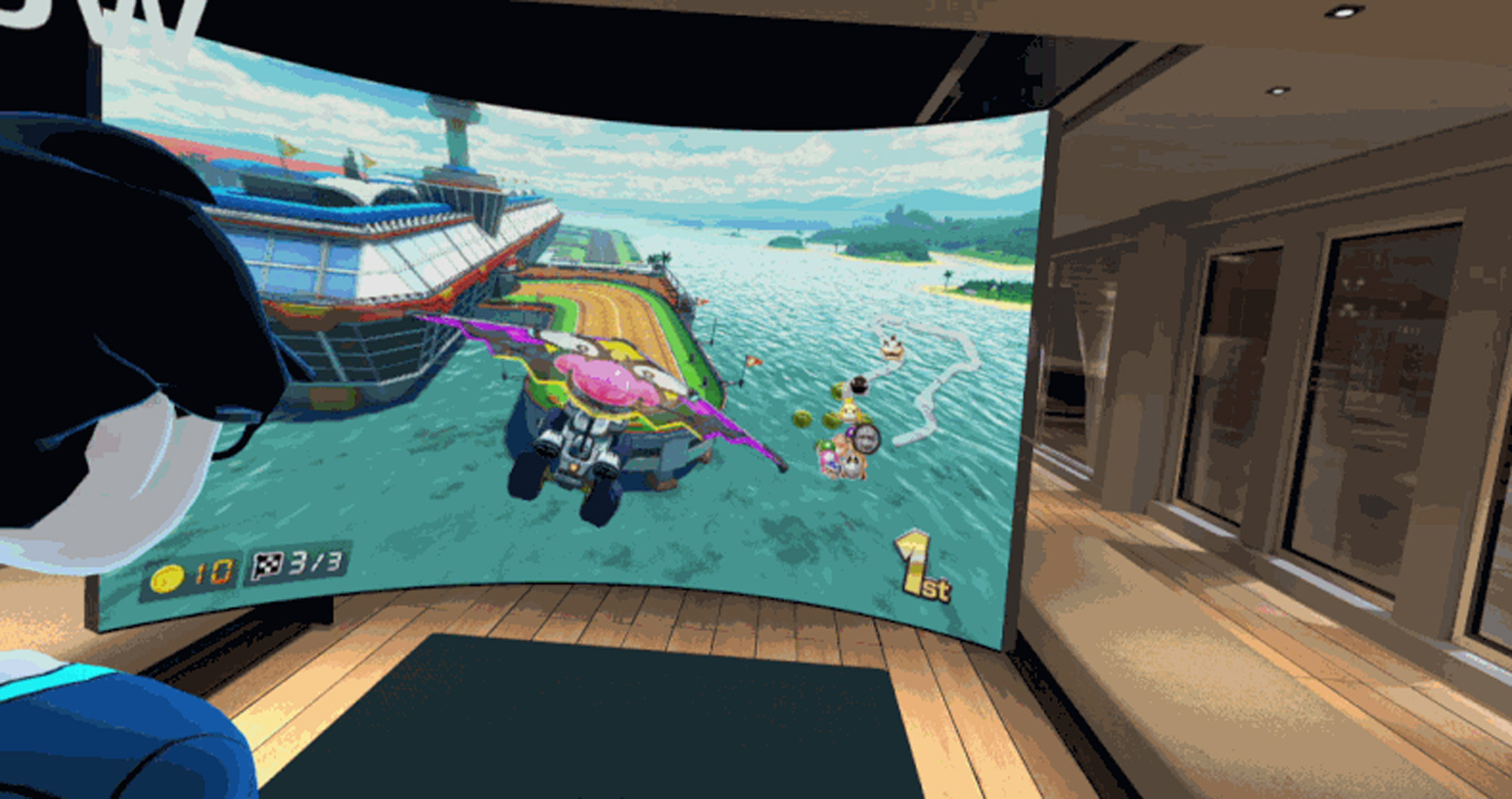 Bigscreen' Lets You Stream Console Games in VR - Nintendo