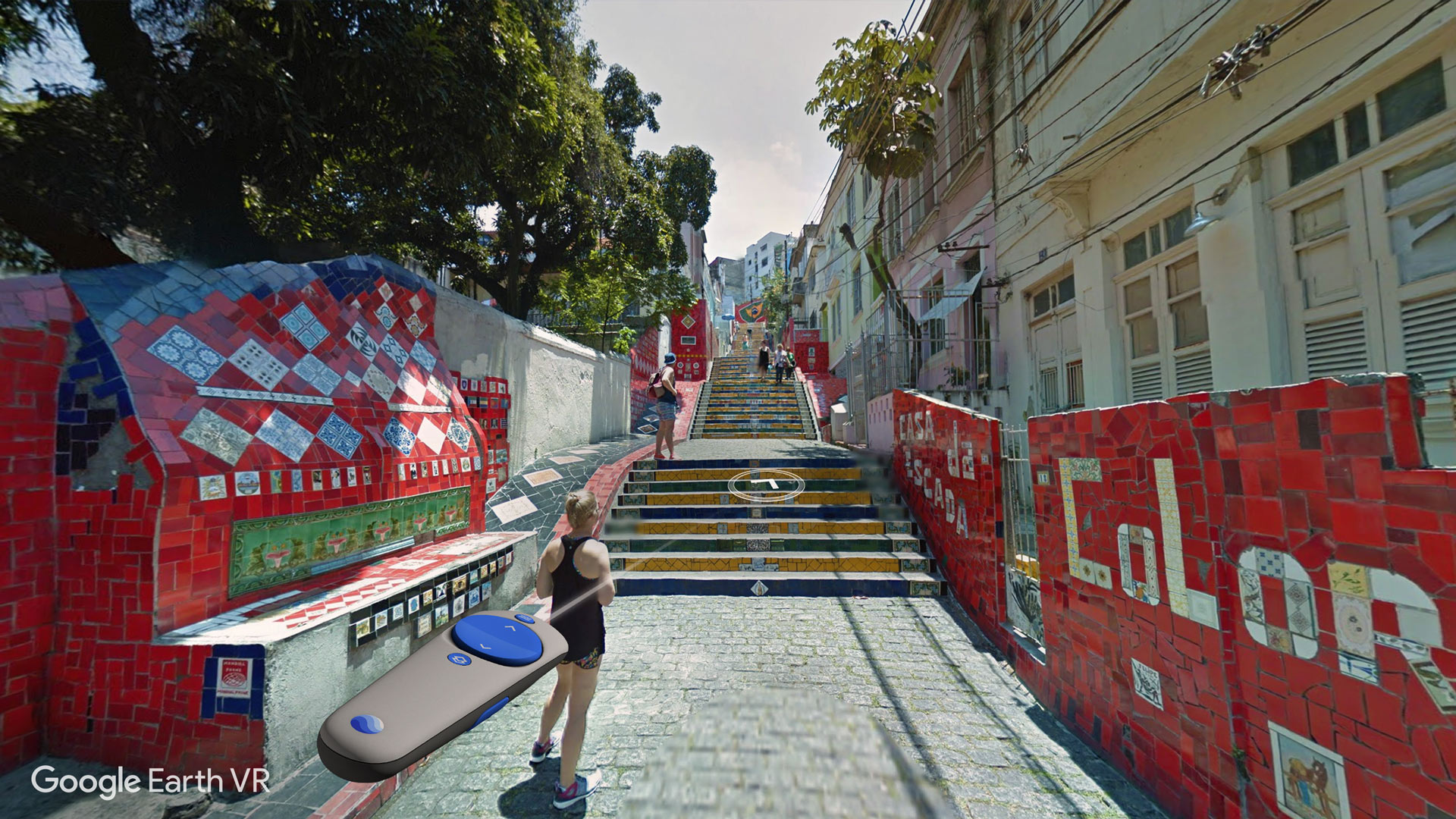 Google Earth VR' Update Adds Street View Navigation, Optimizes for