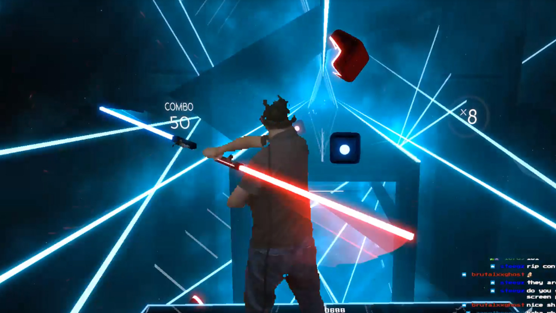 This Guy Modded Oculus Touch to Play 'Beat Saber' Darth Maul-style