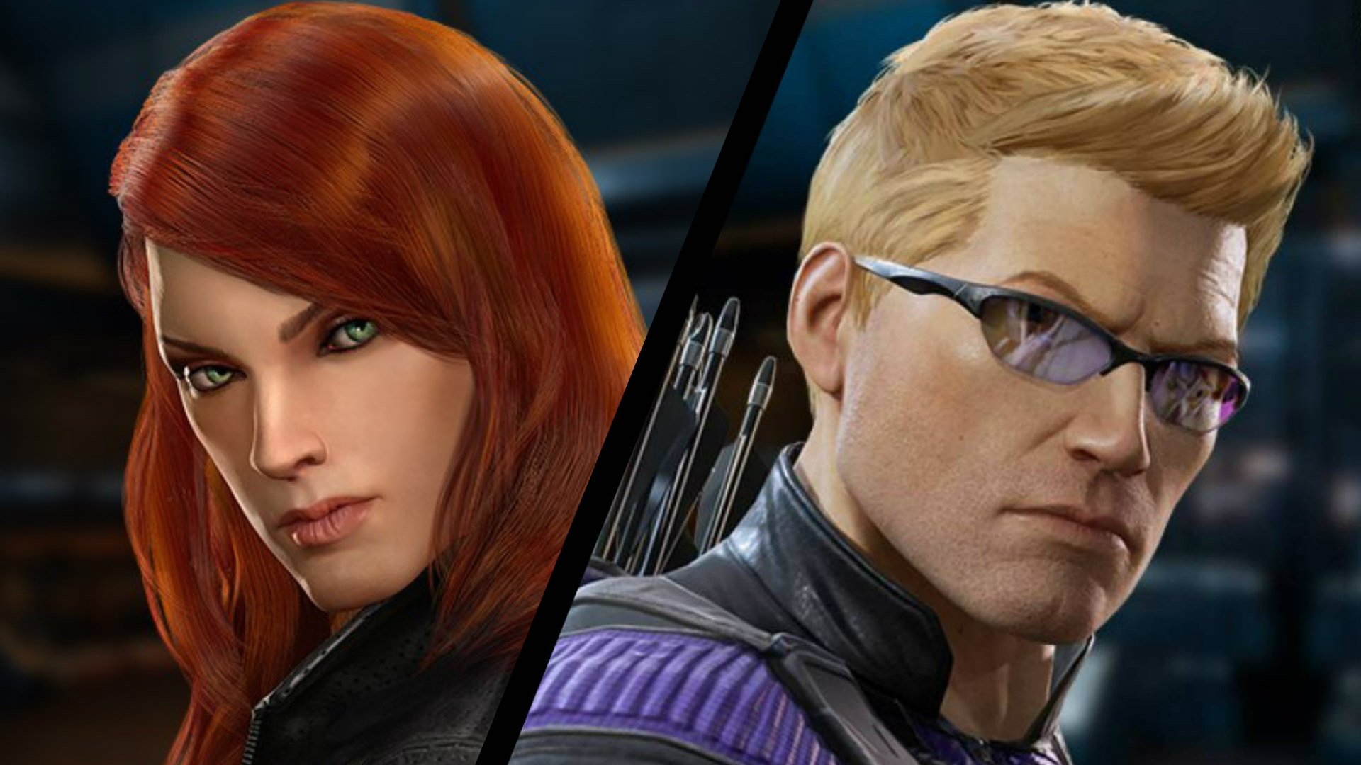 The Avengers Black Widow Hawkeye Coming To Marvel Powers