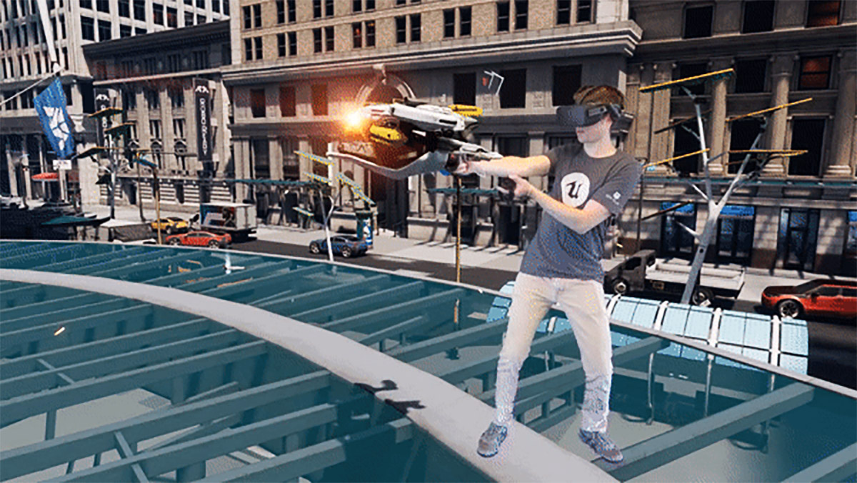 Unreal Engine 4 20 Ships With Native Mixed Reality Compositing for