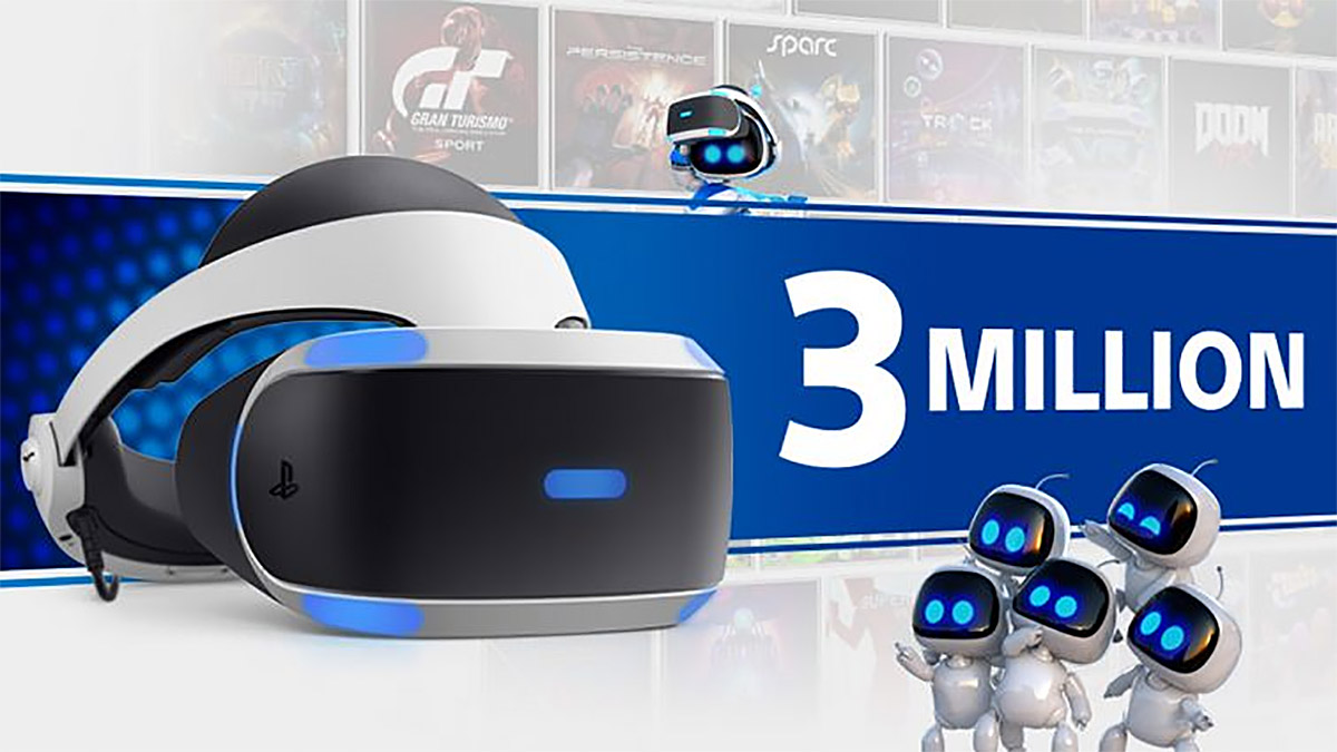 PlayStation VR Passes 3 Million Units Sold - Road to VR