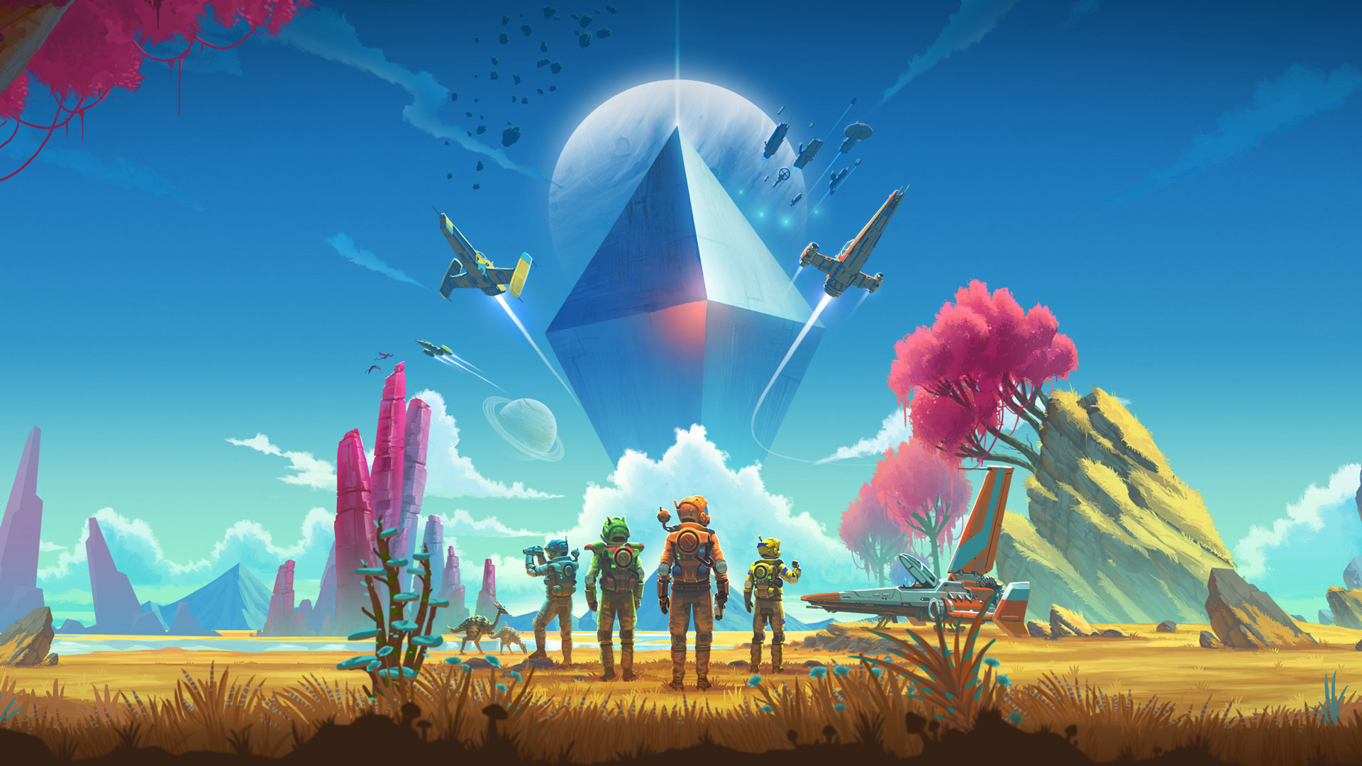 Preview: No Man's Sky in VR Promises a Galaxy Full of Possibilities