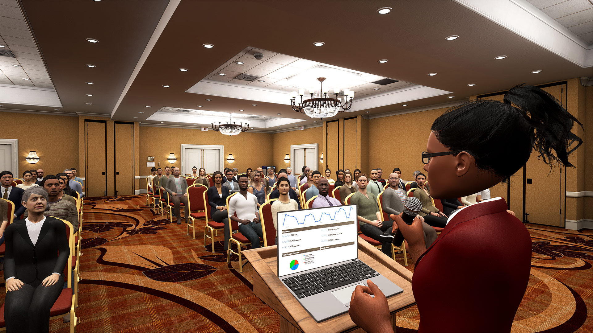 Ovation' is a Powerful VR Public Speaking Sim Designed for Professional  Training