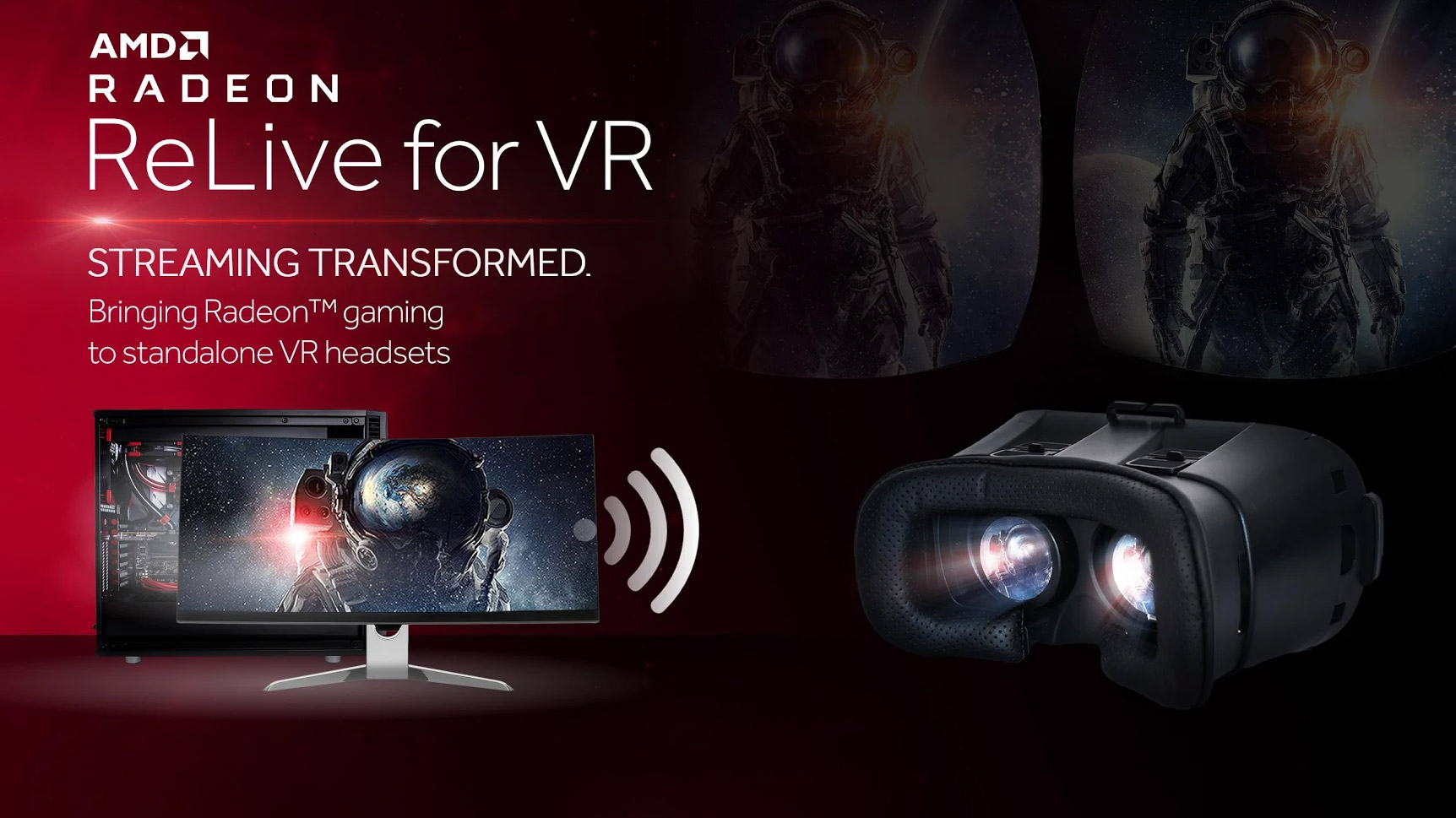 AMD 'Radeon ReLive for VR' Streams SteamVR Games to