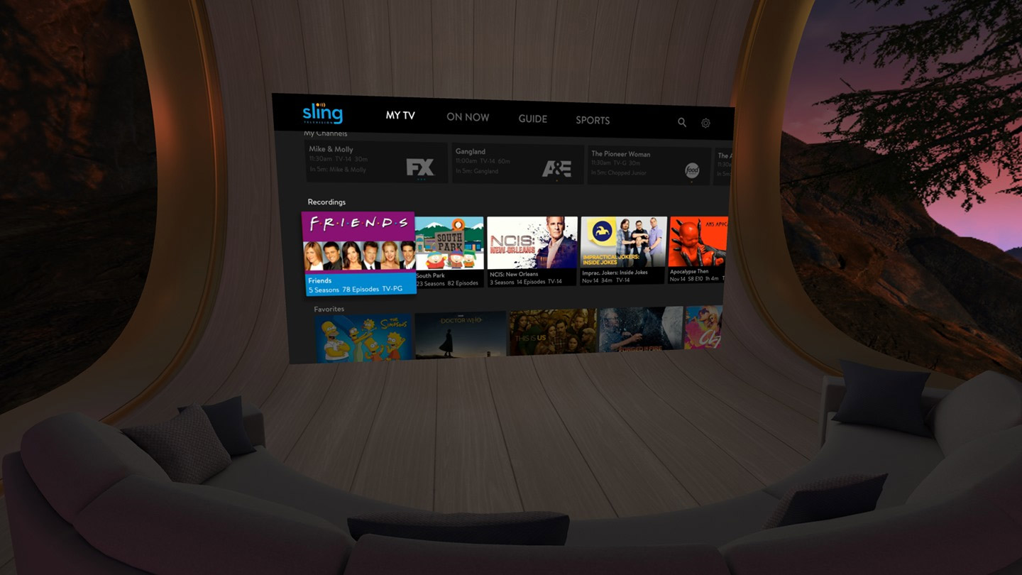 Sling TV, ESPN, and FOX NOW Streaming Come to Oculus Go