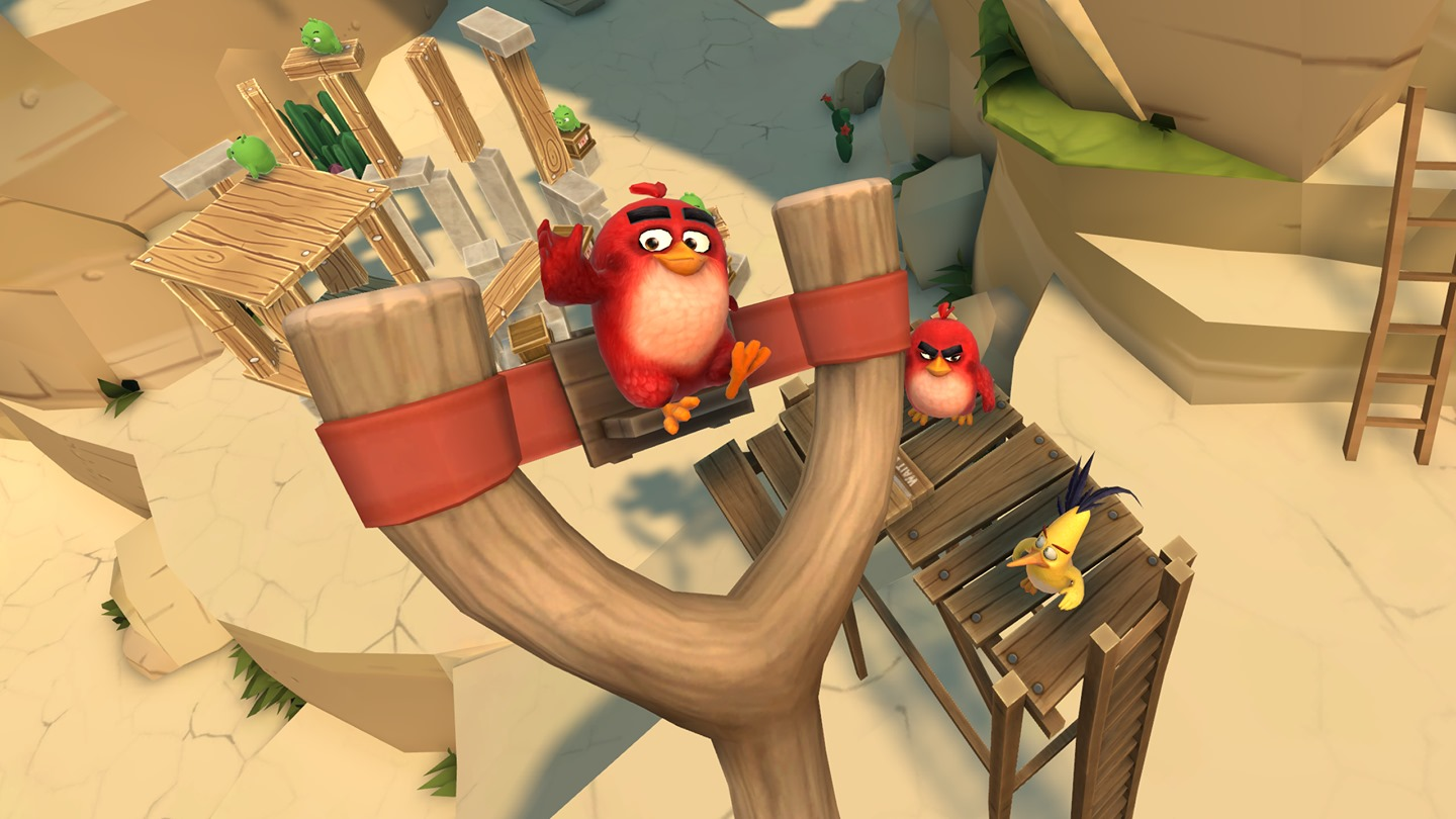 Angry Birds VR' Review — Redefining a Mobile Powerhouse for the