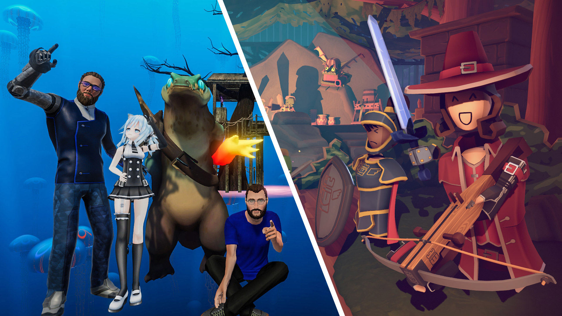 Social VR Hits 'Rec Room' and 'VRChat' Coming to Oculus Quest