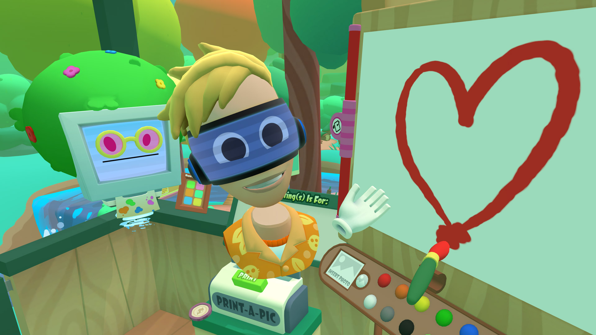 The Surprising Brilliance of Vacation Simulator's VR Paintbrush Tech