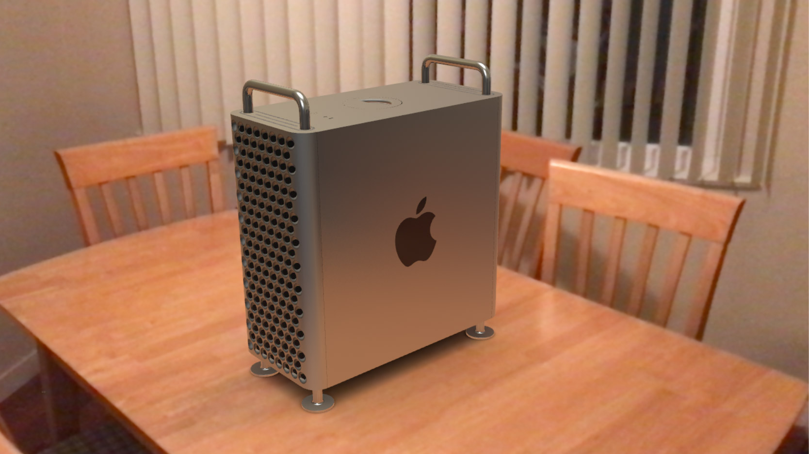 Apple Offers Impressive Web-based AR Previews of New Mac Pro