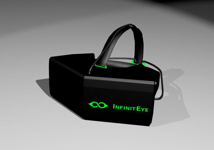 infiniteye head mounted display hmd virtual reality