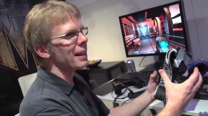 John Carmack at E3 2012, now Oculus VR CTO