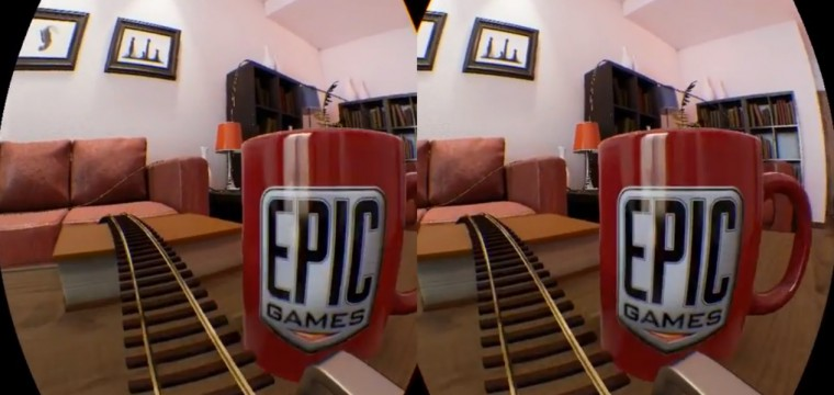 New Unreal Engine 4 VR Roller Coaster Demo Shrinks You to the Size of a Mouse (Video)