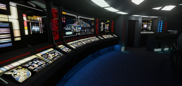 Star Trek Voyager VR is The first Indie Oculus Rift Demo to Use Unreal Engine 4 (Download)