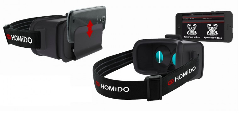 Exclusive: Homido Launches VR Smartphone Adapter and Sleek App for VR Video with Web Browser on iOS and Android (video)