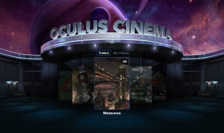 Oculus Cinema, yet another potentially compelling portal to revenue for Oculus VR.