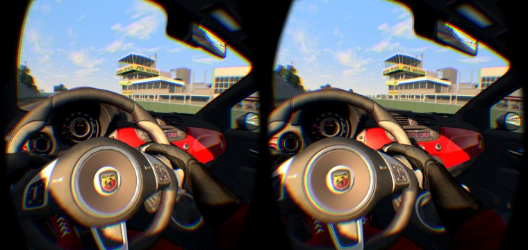 Racing in Assetto Corsa on the Oculus Rift DK2 is a Flawed Revelation