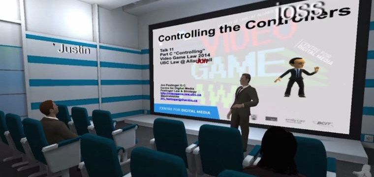 'VR Chat' Used to Deliver One of the First University Lectures in Virtual Reality