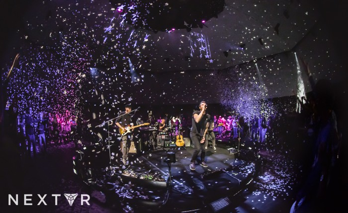 coldplay virtual reality concert oculus rift nextvr (1)