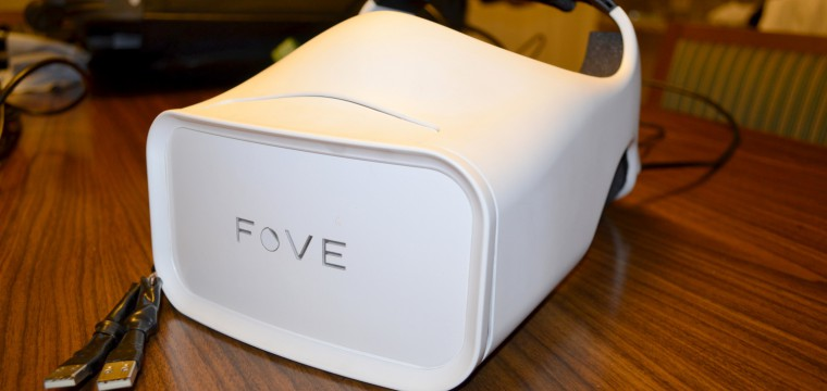 Hands-on: FOVE's Eye-tracking VR Headset Was the Next B